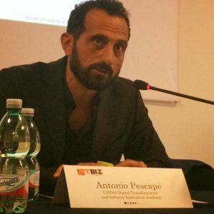 Antonio Pescapé, direttore scientifico di DIGITA Academy (foto: Facebook)