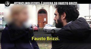 Un frame del servizio de Le Iene dedicato a Fausto Brizzi (fonte: Leggo)