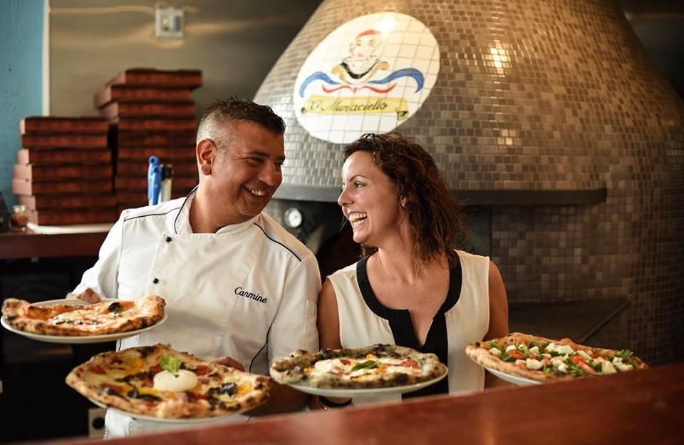 Carmine Candito pizzeria 'o Munaciello Miami Napoli