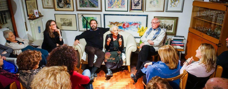 Isa Danieli e Gigi Esposito. Foto Cesare Abbate