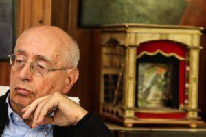 Manlio Santanelli (foto di Cesare Abbate)