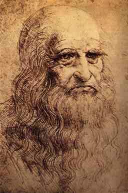Ritratto Leonardo Da Vinci