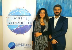 Gli avvocati Francesco Leone e Simona Fell (foto: Ufficio Stampa Studio Legale Leone - Fell)