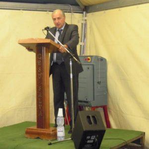 Il pastore della Comunità Evangelica ADI Pianura Mattia Basile (foto: Facebook)